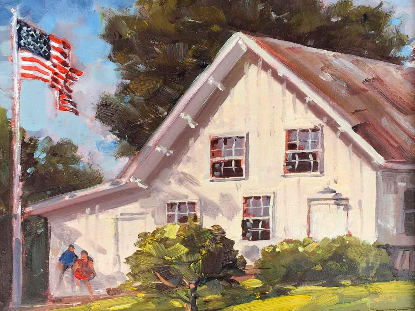 Augusta Heritage Foundation painting